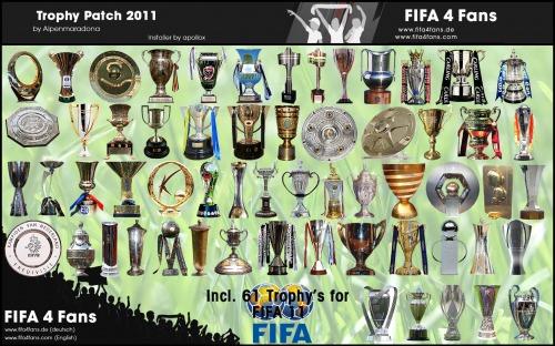 Патч, обновляющий трофеи в FIFA 11. Опубликовано.